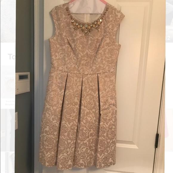 Eliza J Dresses & Skirts - White fit and flare dress